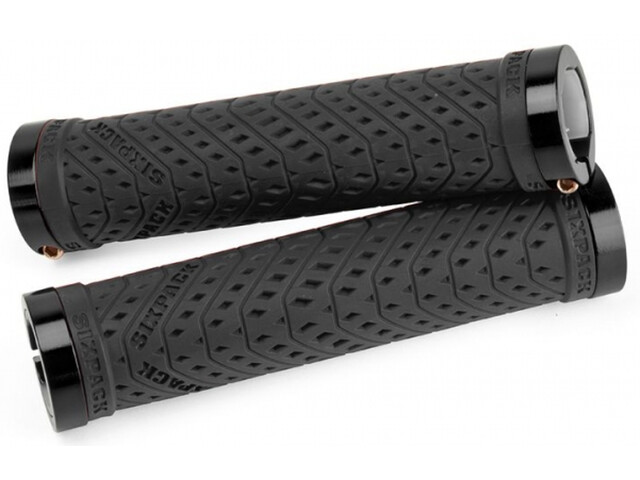 Sixpack K-Trix Lock-On Griffe schwarz/schwarz